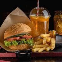 Бургер меню (веган)