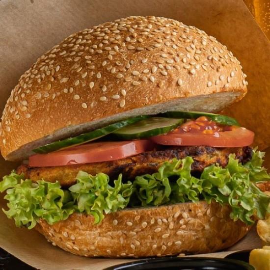 """Бургер """"м'ясний"""" (веган)"""